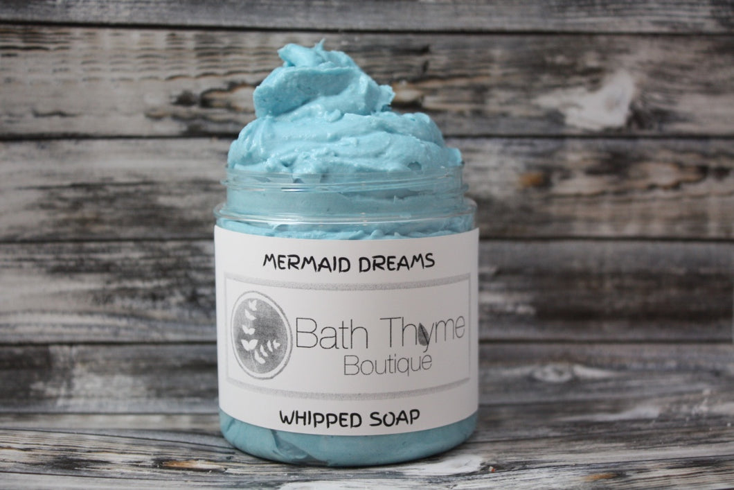 Mermaid Dreams Whipped Soap