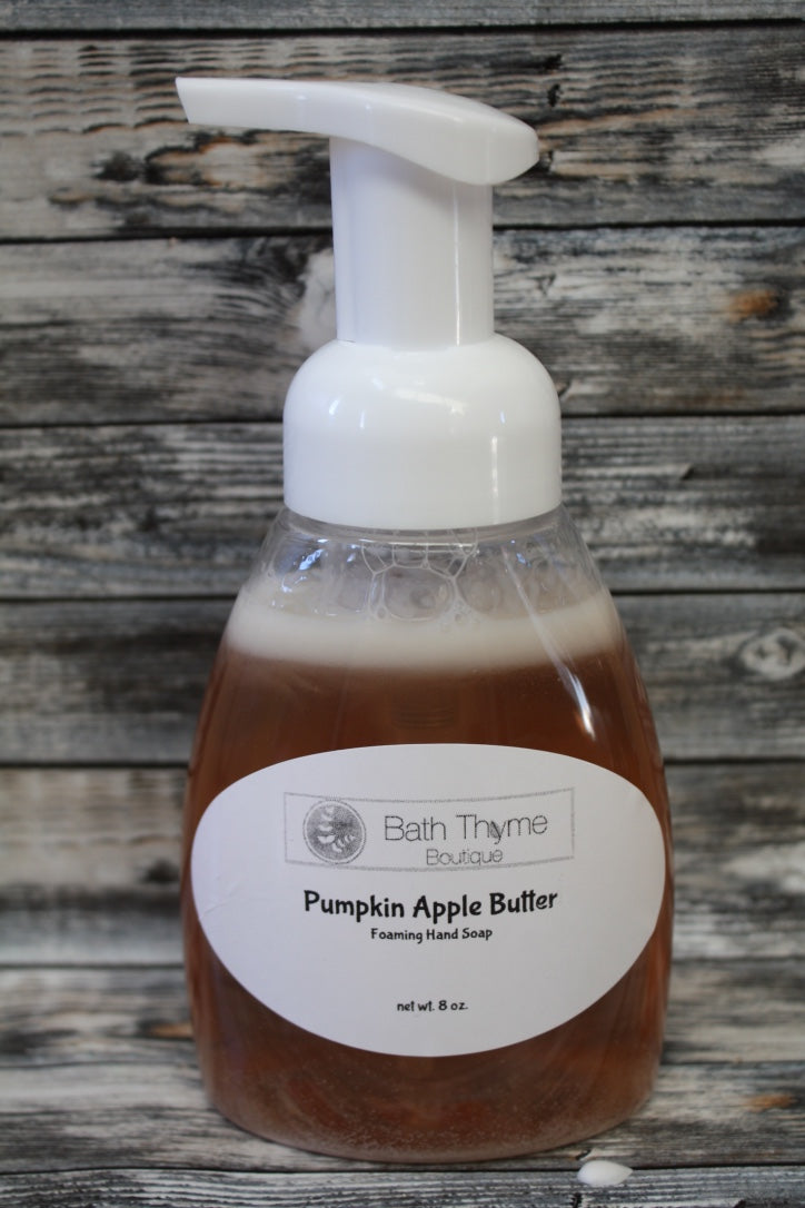 Pumpkin Apple Butter Foaming Hand Soap
