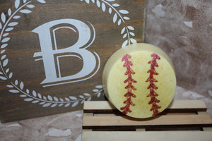 Strawberry Smoothie Softball Soap