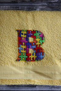 "Monogram ""B"" Hand Towel"