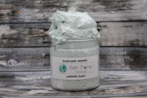 Rosemary Pepper Whipped Soap