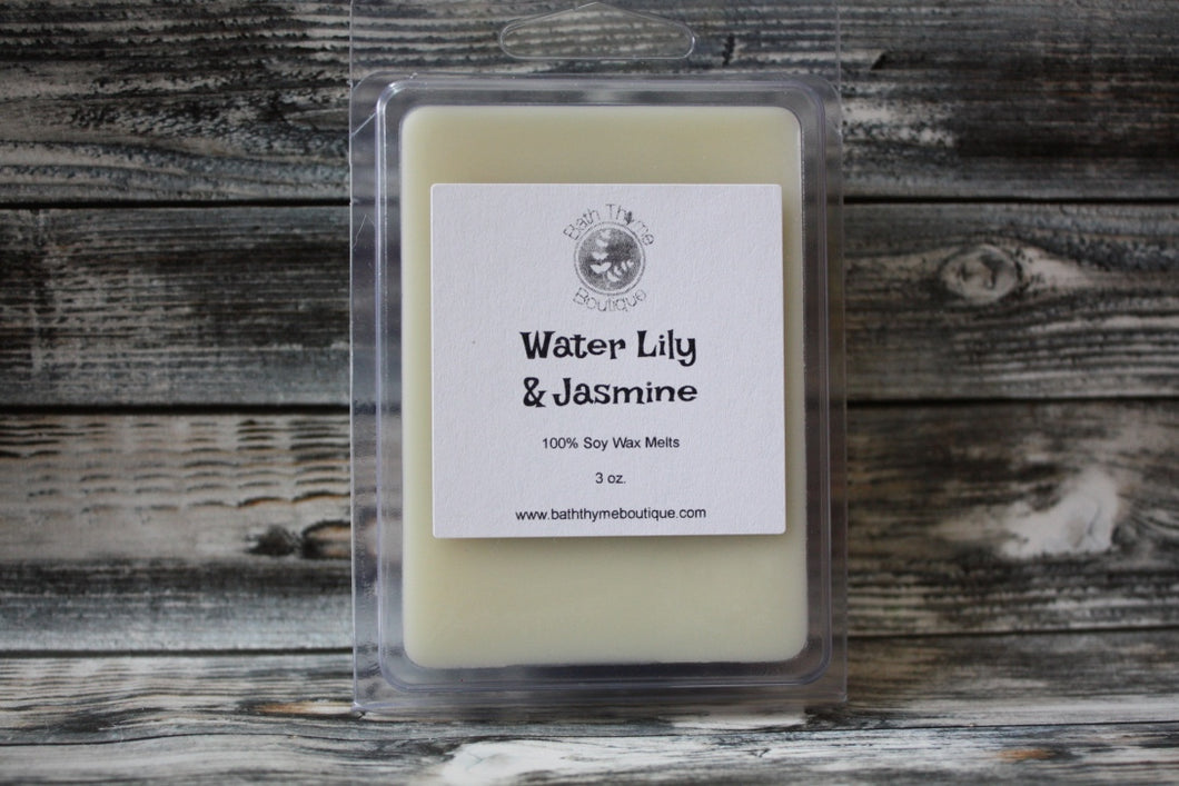 Water Lily & Jasmine Soy Wax Melts