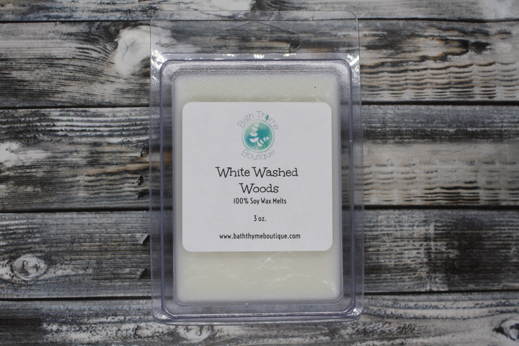 White Washed Woods Soy Wax Melts