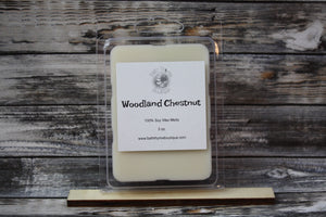 Woodland Chestnut Soy Wax Melts