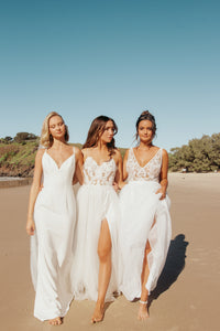Alicia Bodysuit & Skirt - Oscar & Ivy Bridal