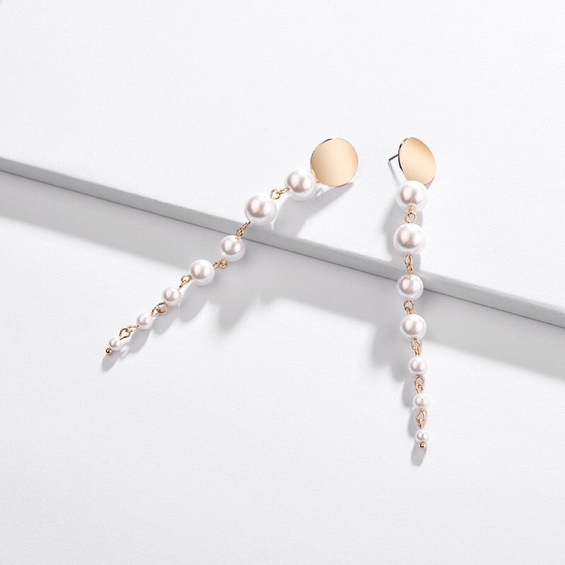 La Pearla Drop Earrings - Oscar & Ivy Bridal