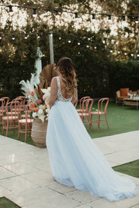 Alicia Bodysuit & Skirt || Wedding Dress - Oscar & Ivy Bridal