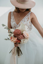 Load image into Gallery viewer, Alicia Bodysuit & Skirt || Wedding Dress - Oscar & Ivy Bridal