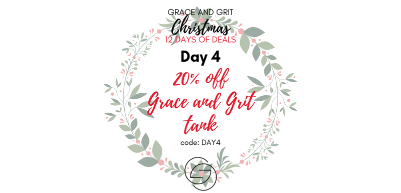 Grace and Grit Christmas 12 Days of Deals Day 4 banner