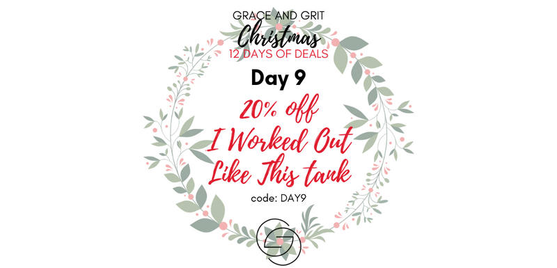 Grace and Grit Christmas 12 Days of Deals Day 9 banner