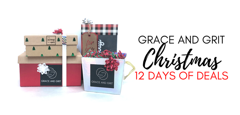 Announcing the Grace and Grit Christmas 12 Days of Deals!