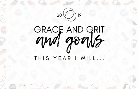 2019 Grace and Grit and Goals Free New Year Printable