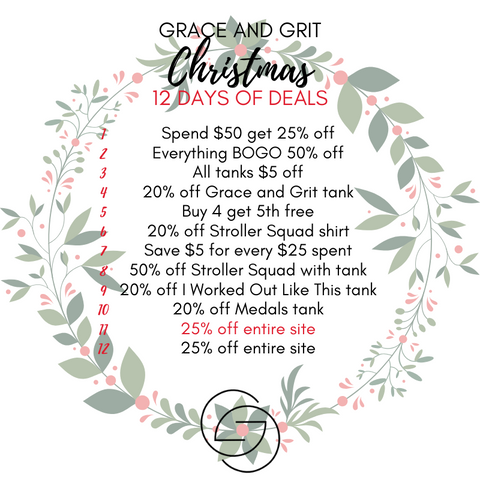 Grace and Grit Christmas 12 Days of Deals Summary Day 11