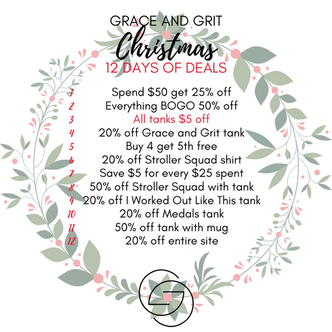 Grace and Grit Christmas 12 Days of Deals Summary Day 3