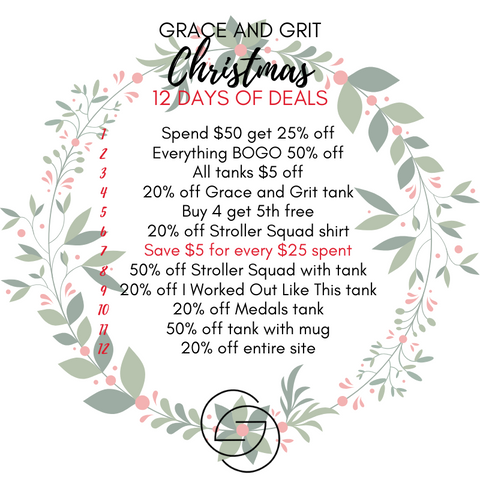 Grace and Grit Christmas 12 Days of Deals Summary Day 7
