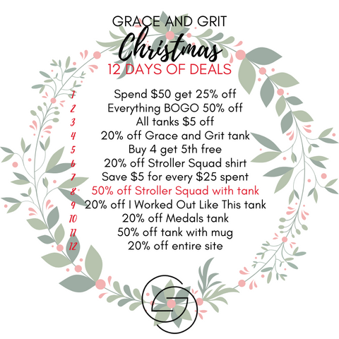 Grace and Grit Christmas 12 Days of Deals Summary Day 8