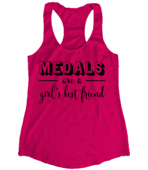Grace and Grit MEDALS are a Girl's Best Friend Product