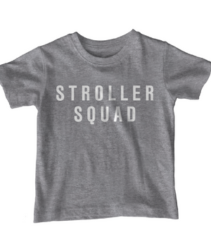 Grace and Grit Stroller Squad Kid's Shirt Product