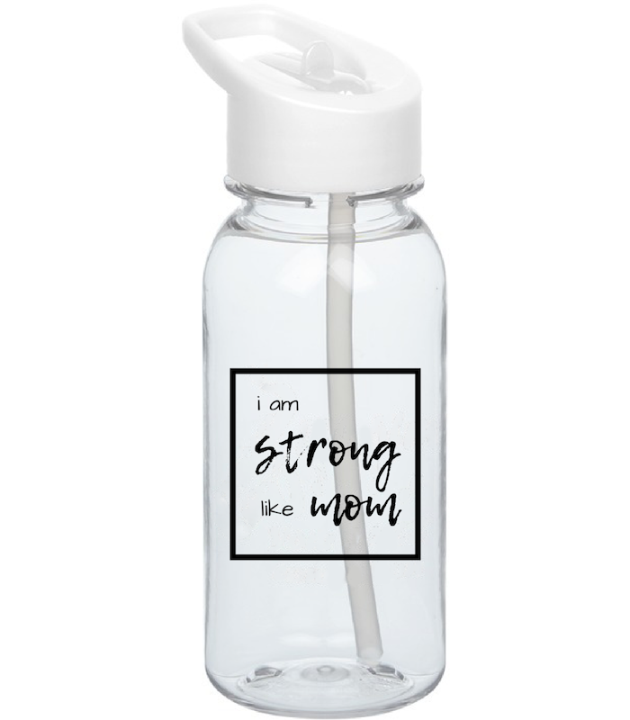 Limited Edition i am STRONG like MOM Water Bottle