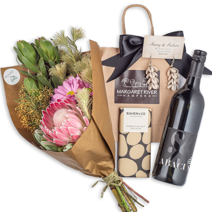 Whisper Floral Bouquet Gift Hamper