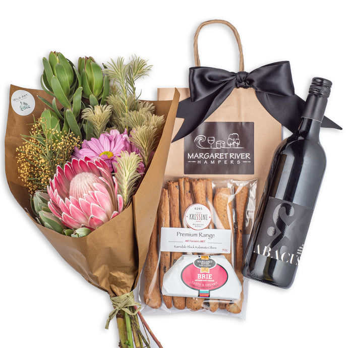 Sundowner Floral Bouquet Gift Hamper