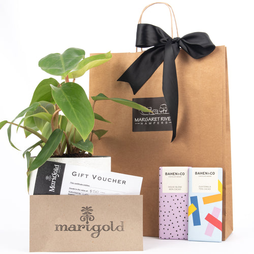 Margaret River Gift Hampers, chocolate, plants, wine