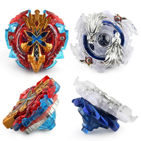 1SetB48 / B66 Kids Fusion Top Rapid Fight Metal Master Beyblade 4D Launcher Grip Set Collection Spinning Top