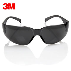3M 11330 Sikkerhedsbeskyttende sorte beskyttelsesbriller Briller Anti UV Sunglasses Anti Fog Shock proof arbejdsbeskyttelse Briller gratis udstationering