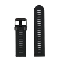 (Fenix3SS) Sort til Garmin Fenix 3 / Fenix 5X Watch band, udskiftningsbånd til Garmin Fenix 3 / Fenix 3 HR / Fenix 5X Smart Watch