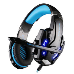 KOTION HVER G9000 3.5mm Gaming Headset Gaming Headphone Høretelefoner Hovedtelefoner med mikrofon til bærbar pc-telefon iPad tablet