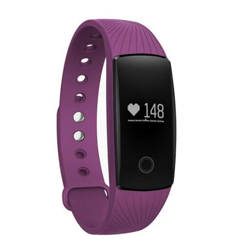 Smart Band Smartband Pulsmåler Armbånd Fitness Flex Armbånd til Android iOS PK xiomi mi Band 2 fitbits smart ID107
