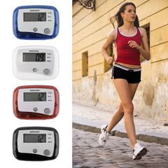 TSAI Mini Digital LCD Run Step Pedometer Gåafstand CounterLightweight Belt Clip pedometer
