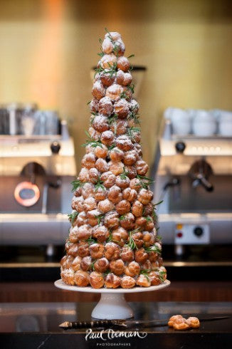 Why The Croquembouche is taking over traditional Wedding Cakes