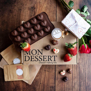 Handmade chocolate box kit - Mon Dessert