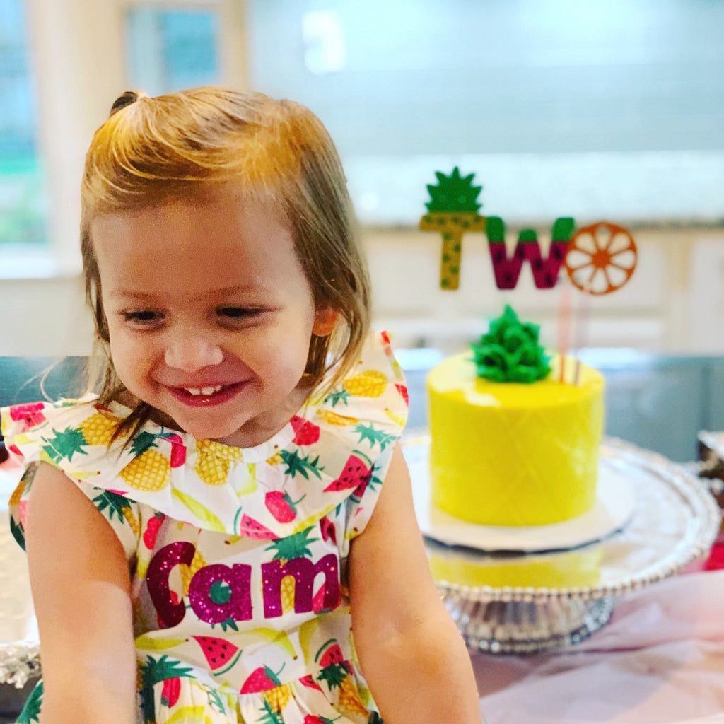 Two-tti Fruity: 2 Year Old Birthday