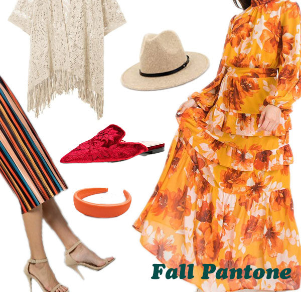 Fall Fashion Refresh - Fall Colors