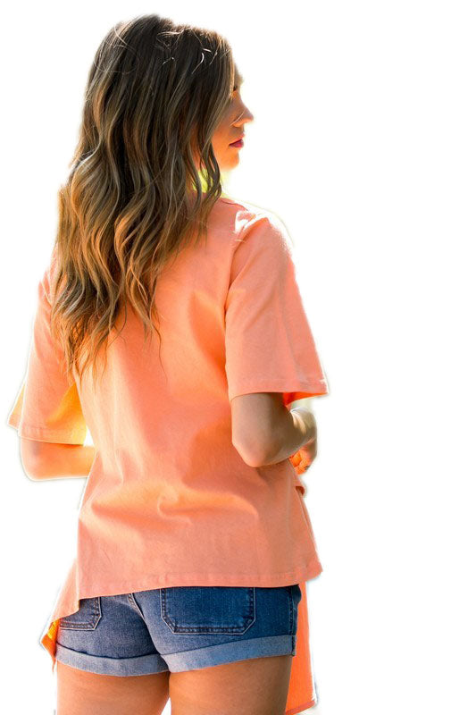 Neon Orange Crush Shirt