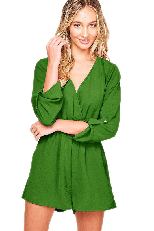 The Grass is Always Greener Romper