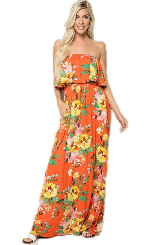 Plus Garden Party Citrus Maxi
