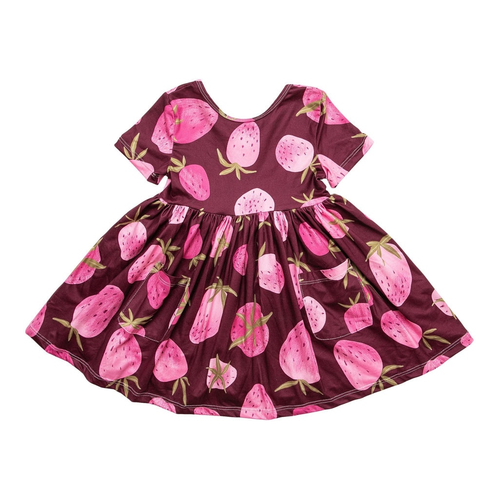 Berry Bliss Twirl Dress