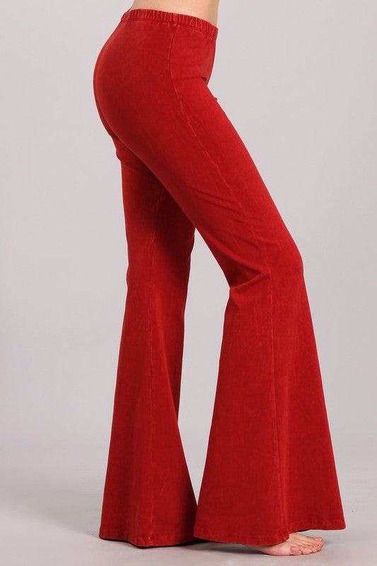 Your New Favorite Pants Charcoal Red