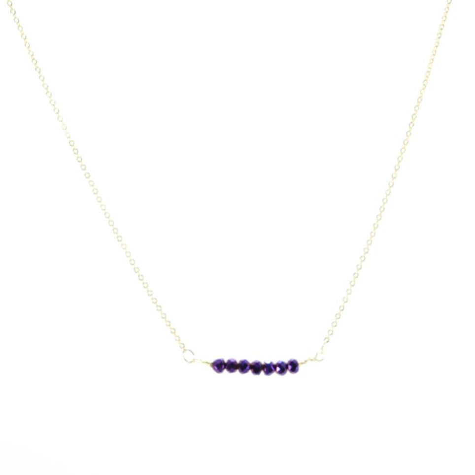 Baby Girl Purple Necklace