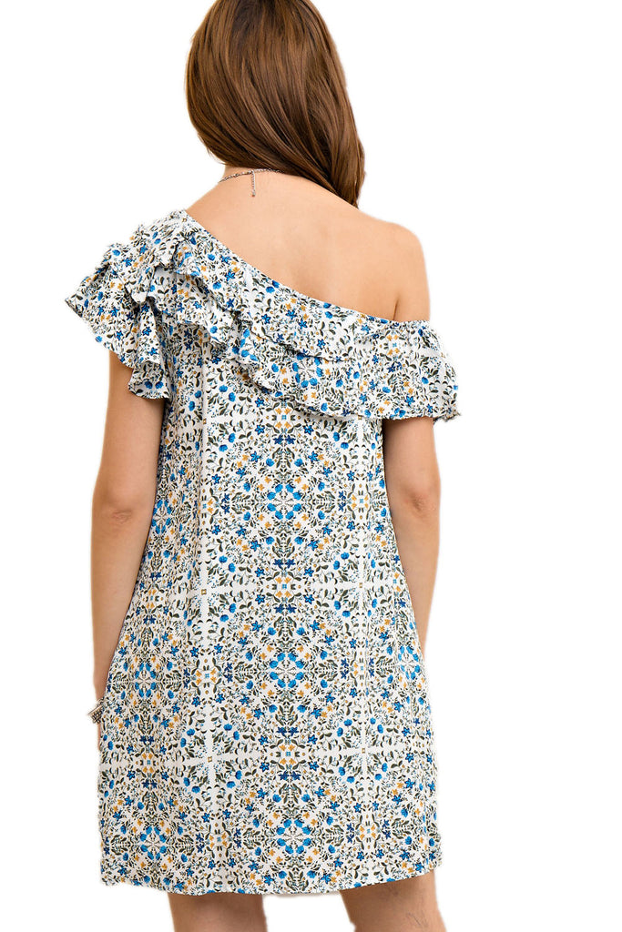 Medallion Patio Date Dress