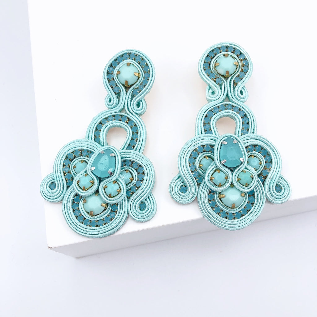 Shop Treasure Jewels Turquoise Statement Earrings