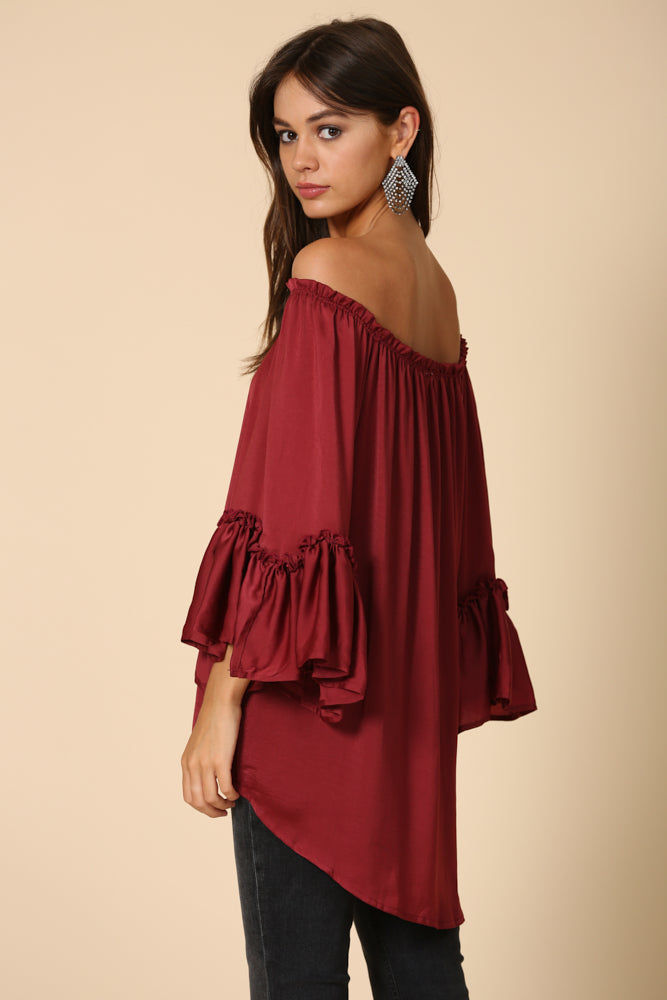 Drama Mama Off the Shoulder BLouse