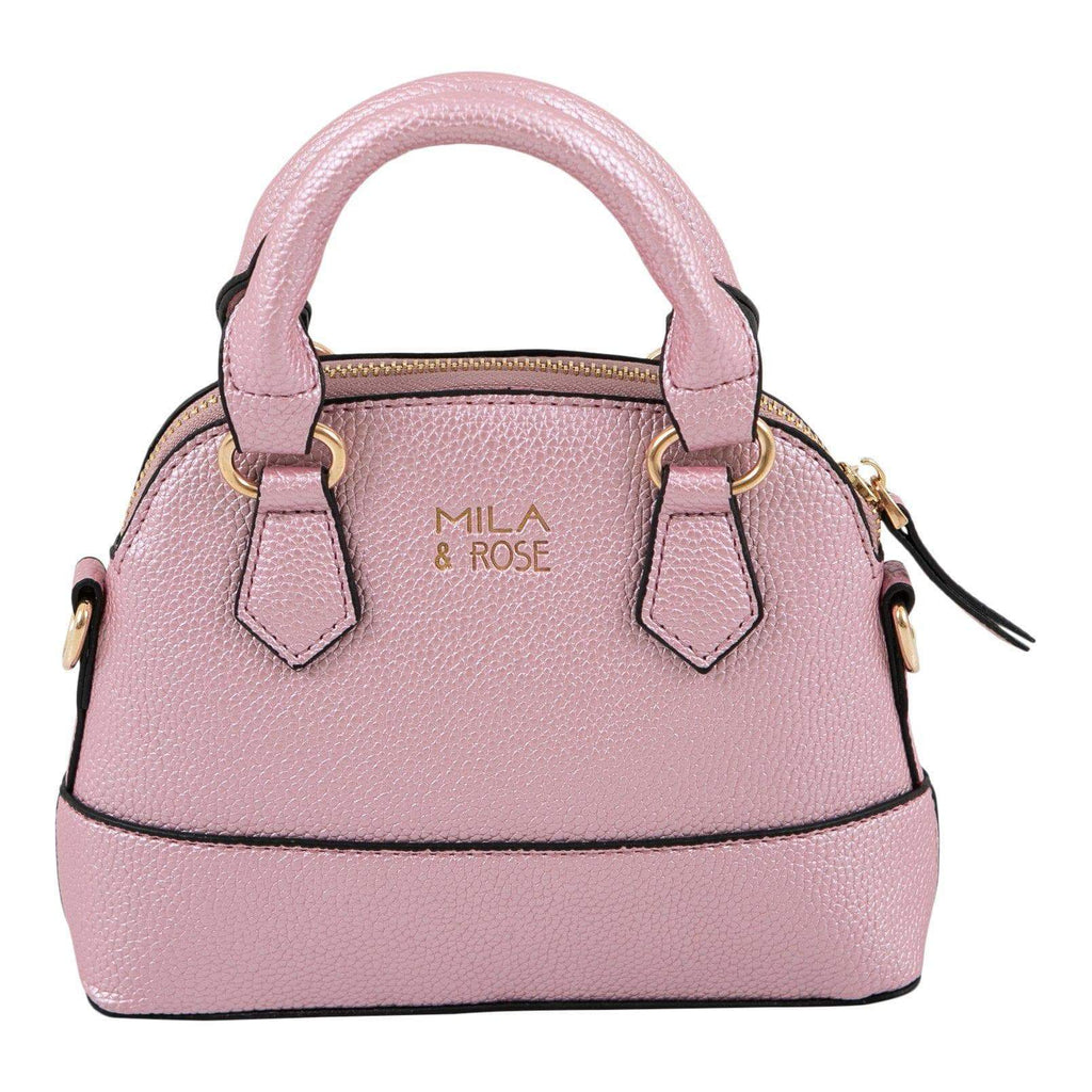 Pink Metallic Girl's Purse