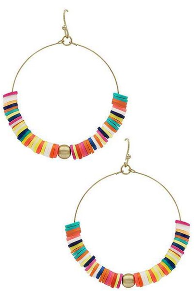 Fiesta Hoop Earrings