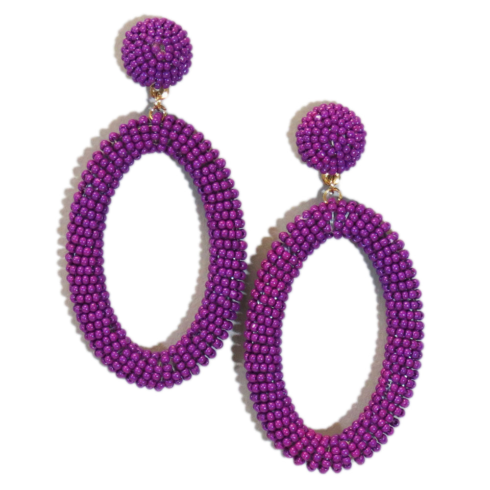 Stunning Violet Earrings