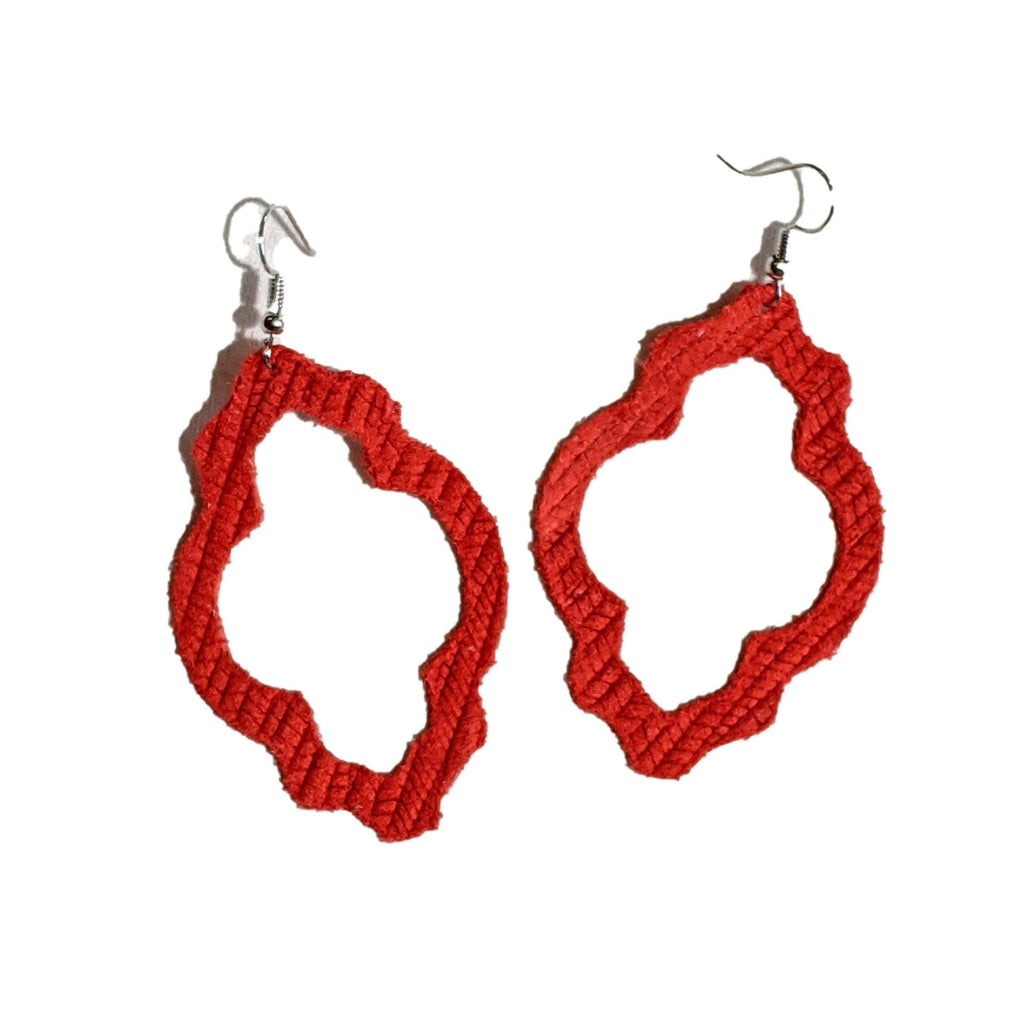 Go Big Red Earrings