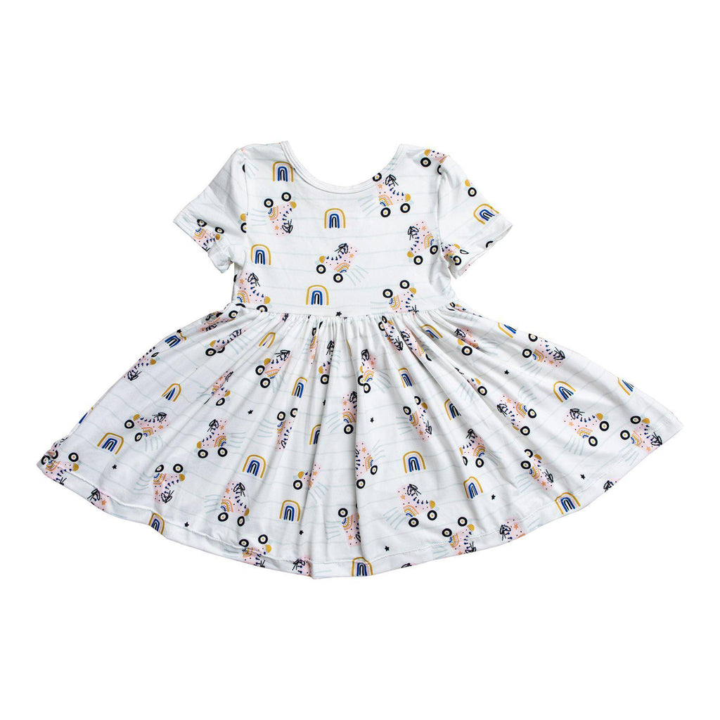 Rollin' Rainbow Girls Dress